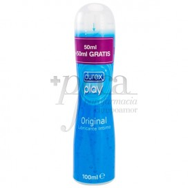 DUREX PLAY ORIGINAL LUBRICANTE 100 ML