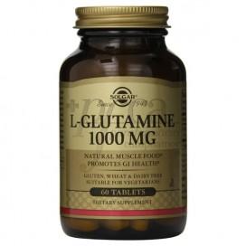 SOLGAR L-GLUTAMINE 1000MG 60 CAPSULES