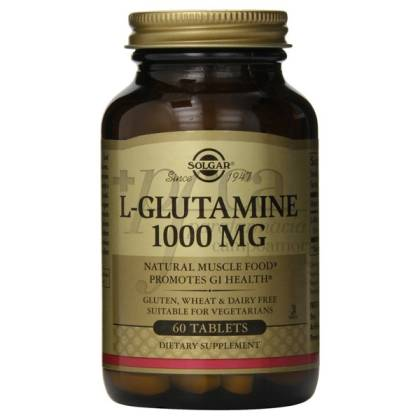 L-GLUTAMINA 1000MG 60 TABLETS SOLGAR