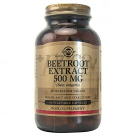 BEETROOT EXTRACT 500MG 90 CAPSULES SOLGAR