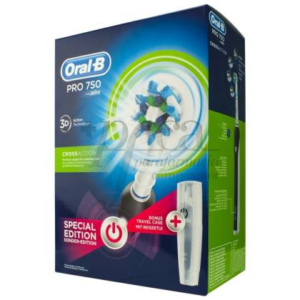 ORAL-B PRO750 CROSSACTION CEPILLO NEGRO PROMO