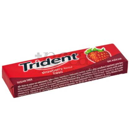 TRIDENT FRUIT BAR GUMS