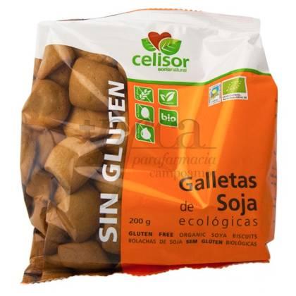 GALLETAS DE SOJA 200G (SIN GLUTEN) SORIA NATURAL