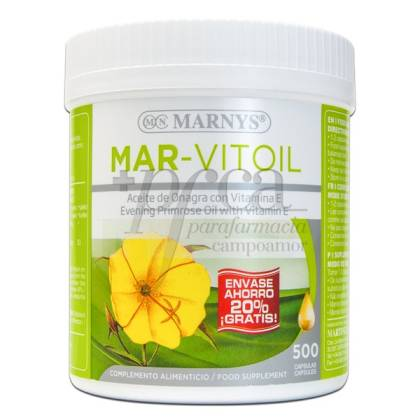 MARNYS MAR-VITOIL EVENING PRIMROSE OIL 500 PEARLS