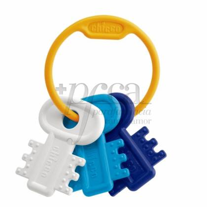 CHICCO BLUE COLORED KEYS
