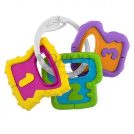 CHICCO EASY TO HOLD KEYS 3M+