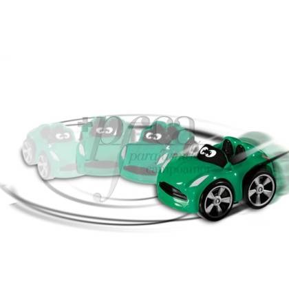 CHICCO WILLY TURBO STUNT GREEN CAR 3Y+
