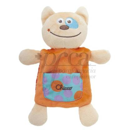 CHICCO HAPPY COLORS MANTITA GATO 0M+
