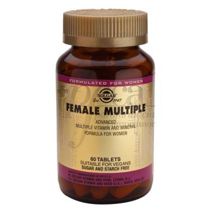 FEMALE MULTIPLE 60 COMPRIMIDOS SOLGAR