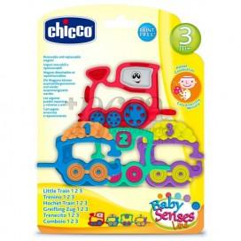CHICCO TRENECITO 1-2-3 SONAJERO 3M+