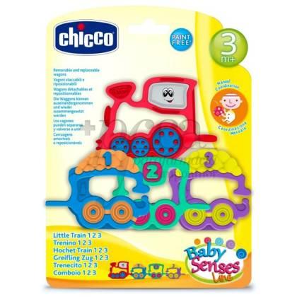 CHICCO KINDER ZUG 1-2-3 RASSEL 3M+