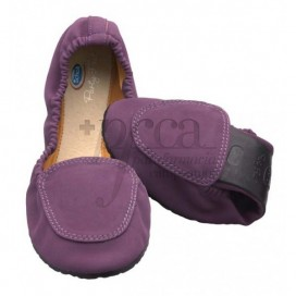 POCKET BALLERINA SCHOLL PARTY FEET LILA G37-38