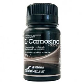 L-CARNOSINA + GLICINA 60 COMPR SORIA NATURAL