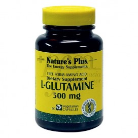 L-GLUTAMINA 500 MG 60 CÁPSULAS NATUR IMPORT
