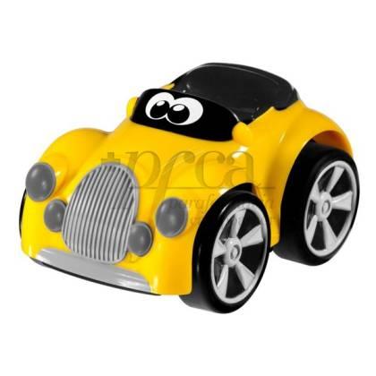 CHICCO STUNT CAR IN GELB +3J