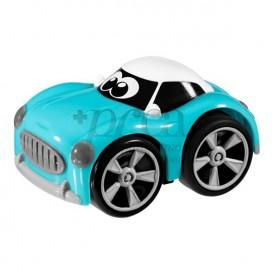 CHICCO STUNT CAR AZUL +3AÑOS