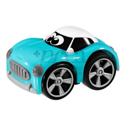 CHICCO STUNT CAR IN BLAU +3J
