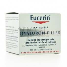 EUCERIN VIAGEM HYALURON-FILLER PELE NORMAL MISTA 20ML