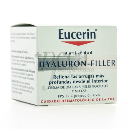 EUCERIN HYALURON-FILLER NORMAL TO COMBINATION SKIN TRAVEL SIZE 20ML
