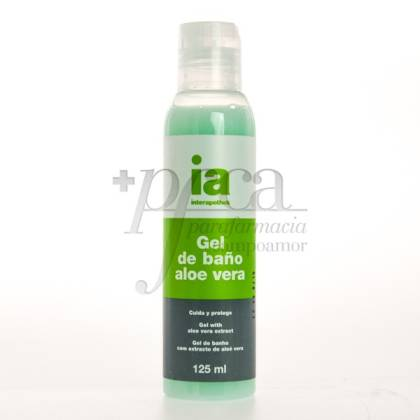 INTERAPOTHEK ALOE VERA BADEGEL 125 ML