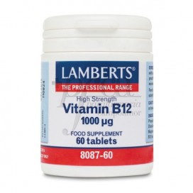 VITAMINA B12 1000 MCG 60 COMPS LAMBERTS