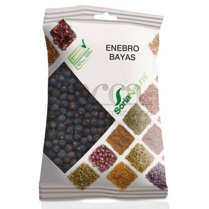 COMMON JUNIPER BERRIES 50 G SORIA NATURAL R.02082