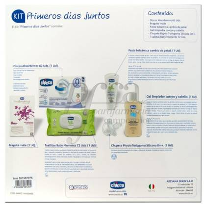 CHICCO HOSPITAL KIT FIRST DAYS
