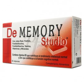 DE MEMORY STUDIO 30 KAPSELN