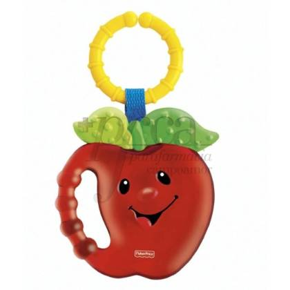 FISHER PRICE APPLE TEETHER RATTLE 0M+