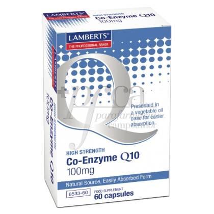 CO-ENZYME Q10 100MG 60 CAPSULES LAMBERTS