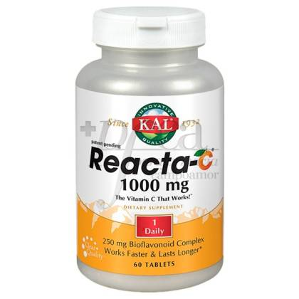KAL REACTA-C 1000MG 60 TABLETTEN