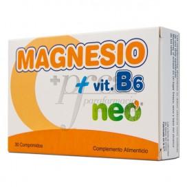 NEO MAGNÉSIO + VITAMINA B6 30 COMPRIMIDOS