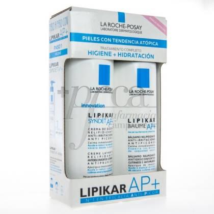 LIPIKAR SYNDET AP+ 400ML + BAUME AP+ 400ML PROMO