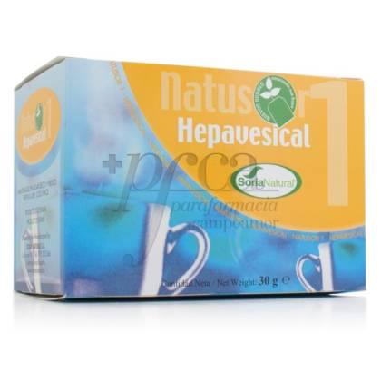 NATUSOR 01 HEPAVESICAL INFUSÃO SORIA NATURAL R.03029