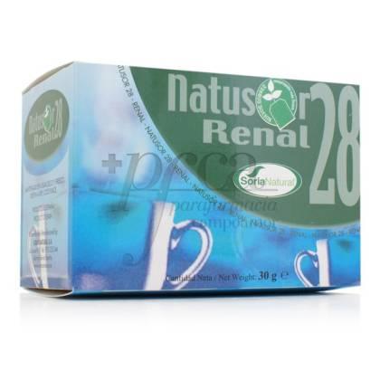 NATUSOR 28 RENAL TEA SORIA NATURAL R.03042
