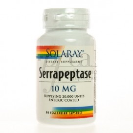 SERRAPEPTASE 10MG SOLARAY 90 CAPS