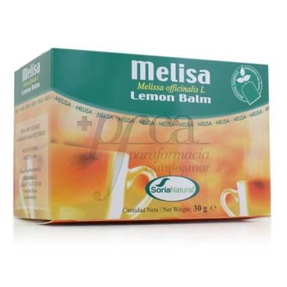 LEMON BALM 20 TEA BAGS SORIA NATURAL