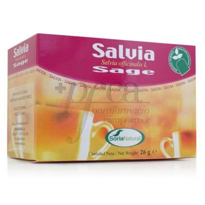 SAGE 20 TEA BAGS SORIA NATURAL