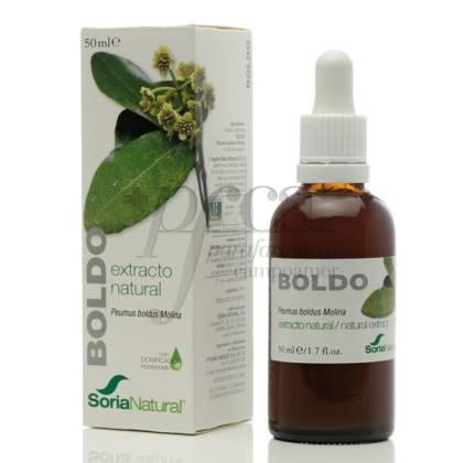 BOLDO EXTRACT 50 ML SORIA NATURAL