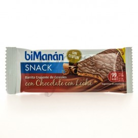 BIMANAN SNACK CEREALS AND MILK CHOCOLATE BAR 1 UNIT