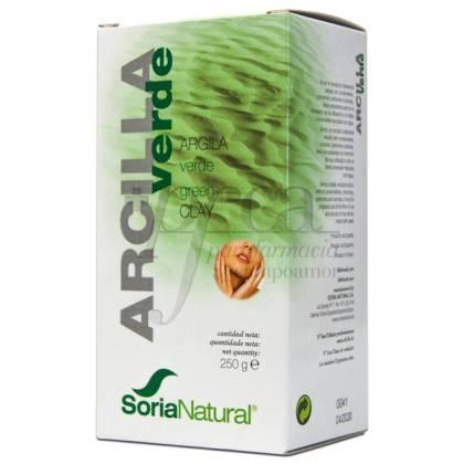 SORIA NATURAL ARCILLA VERDE 250G