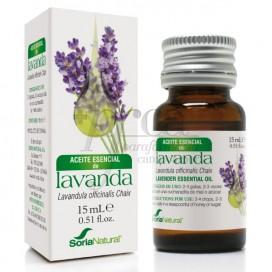 ACEITE ESENCIAL LAVANDA 15 ML SORIA NATURAL R.08019