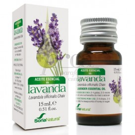 ESSÊNCIA DE LAVANDA 15 ML SORIA NATURAL R.08019