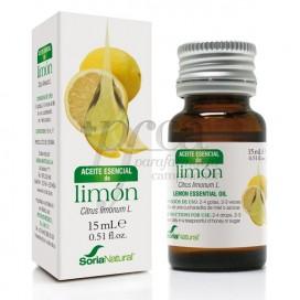 ACEITE ESENCIAL LIMON 15 ML SORIA NATURAL R.08020