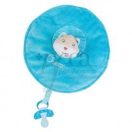 CHICCO SOFT CUDDLES MANTITA AZUL