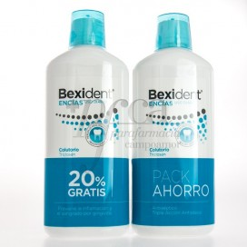 BEXIDENT GUMS MOUTHWASH 2X 500ML PROMO