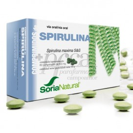 SPIRULINA 60 COMPS R09418