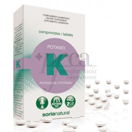 POTASSIUM 20 TABLETS RETARD SORIA NATURAL 11132