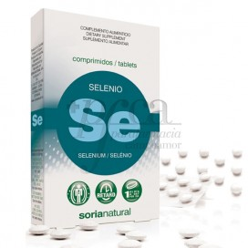 SELEN 200 MG 24 TABLETTEN SORIA NATURAL R.11133