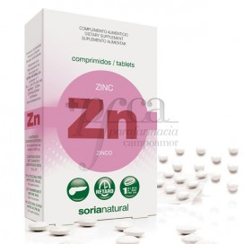 ZINC 200 MG 48 COMPS RETARD R.11135